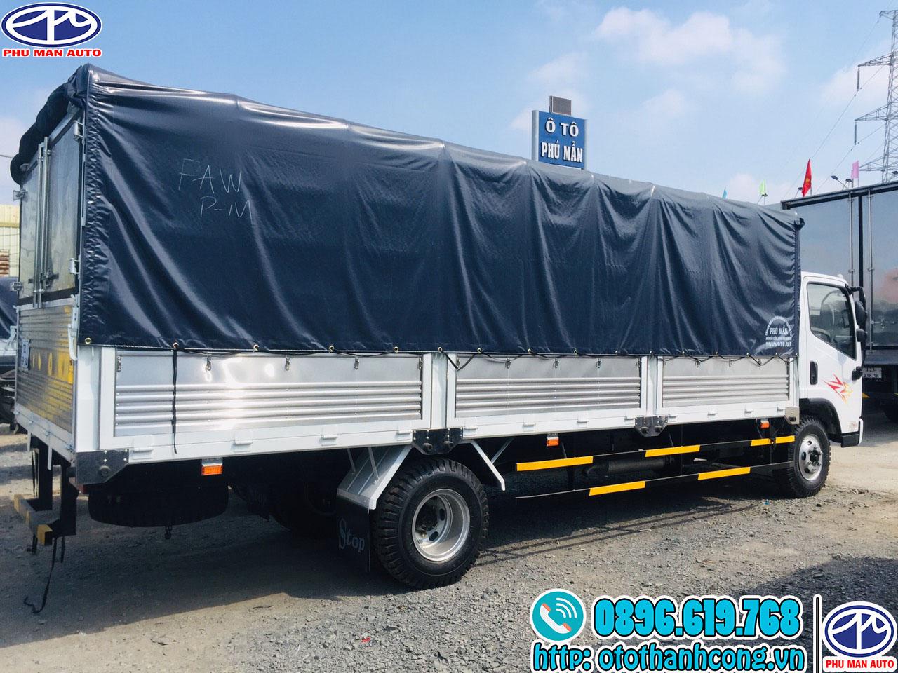 Thùng xe tải Faw 8 tấn