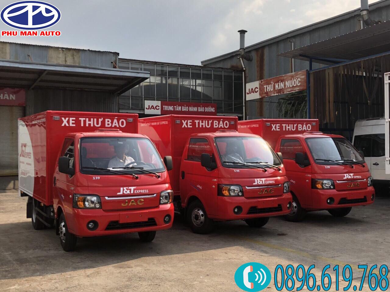 xe jac 990kg màu đỏ