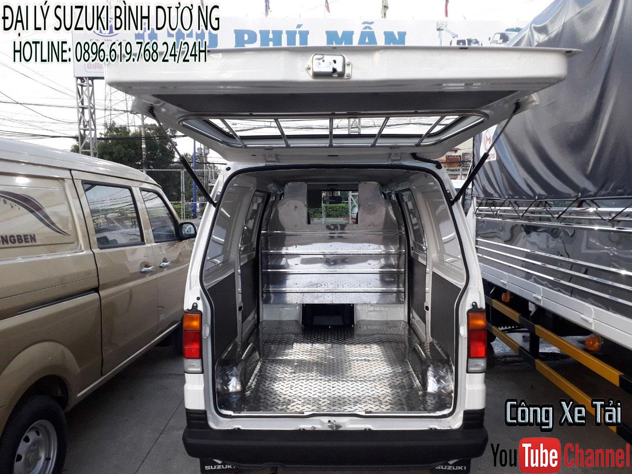 thùng xe suzuki van