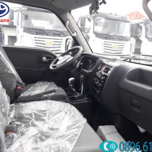 Nội thất xe tải Jac 990kg