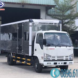 Xe isuzu 1.9 tấn thùng kín 6m2